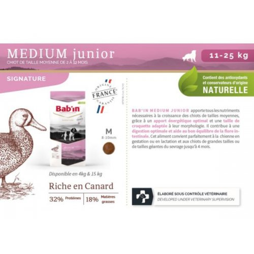 Médium JUNIOR (Canard)